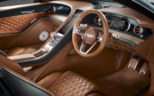 Bentley EXP 10 Speed 6 concept Cabin interior