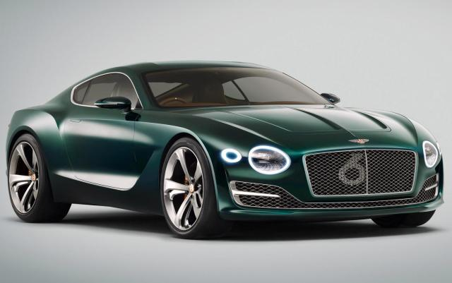 Bentley EXP 10 Speed 6 concept Geneva 2015 Front Three Quarter