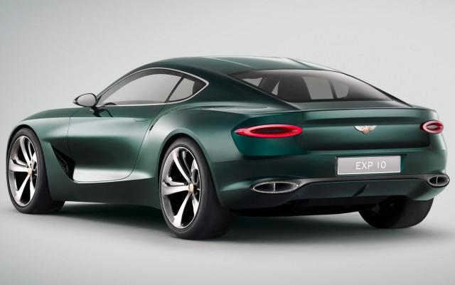 Bentley EXP 10 Speed 6 - Rear Three Quarter
