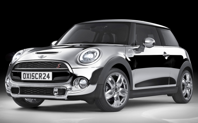 MINI Chrome Line Exterior Deluxe april fools' 2015