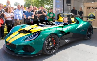 Lotus 3-Eleven unveiled at 2015 Goodwood Festival of Speed