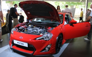 Toyota GT86 engine Goodwood Festival of Speed 2015