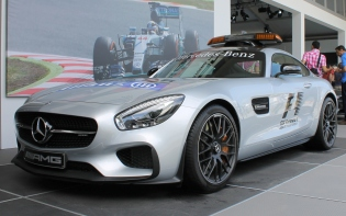 Mercedes AMG GT F1 Safety Car Goodwood Festival of Speed 2015