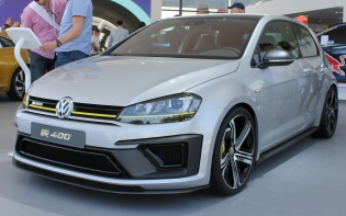 VW Golf R400 Goodwood Festival of Speed 2015