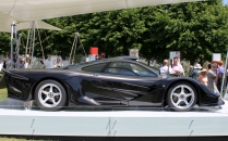 McLaren F1 longtail side profile Goodwood Festival of Speed 2015