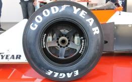 Ayrton Senna McLaren F1 Goodyear Speedline wheel Goodwood Festival of Speed 2015
