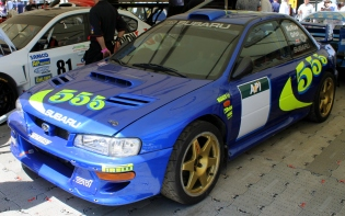 Subaru Impreza WRC Colin McRae Goodwood Festival of Speed 2015