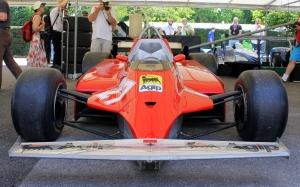 Gilles Villeneuve Ferrari F1 126C Goodwood Festival of Speed 2015