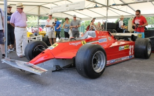 Gilles Villeneuve Ferrari F1 Goodwood Festival of Speed 2015