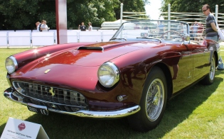 Ferrari 250GT Spider Goodwood Festival of Speed 2015