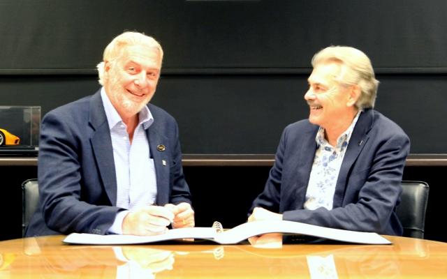 TVR Gordon Murray Design 2017 deal singing