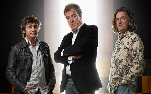 Former Top Gear hosts Clarkson May and Hammond sign new Amazon Prime deal to make new show