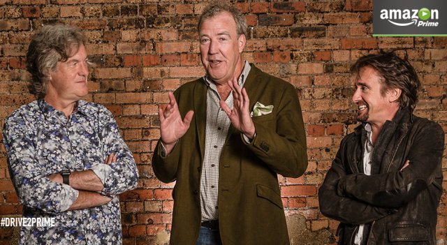 Jeremy Clarkson, James May and Richard Hammond new show on Amazon Prime
