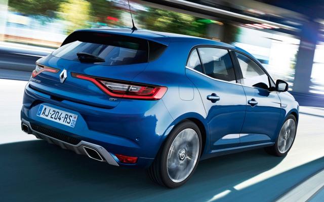 Renault Megane 2016 rear