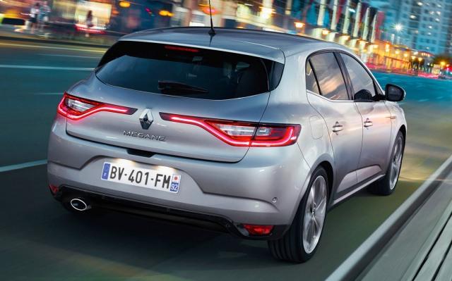 2016 new Renault Megane rear