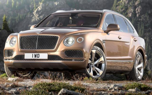 Bentley Bentayga SUV 2016