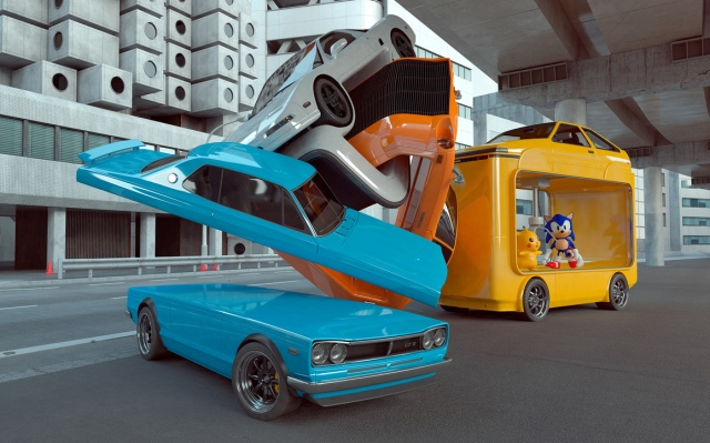 Chris Labrooy Toky car art sculptures