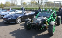 Ariel Nomad Goodwood Breakfast Club Soft Top Sunday May 2016