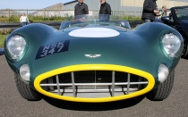 Aston Martin DBR1 front Goodwood Breakfast Club Soft Top Sunday May 2016