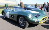 Aston Martin DBR1 Goodwood Breakfast Club Soft Top Sunday May 2016