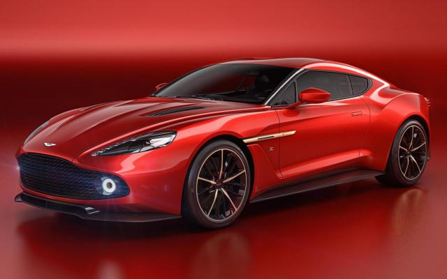 Aston Martin Vanquish Zagato Concept 01