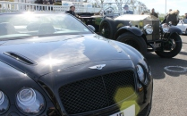 Bentley Rolls Royce Goodwood Breakfast Club Soft Top Sunday May 2016