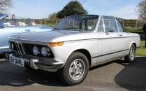 BMW 2002 Convertible Goodwood Breakfast Club Soft Top Sunday May 2016