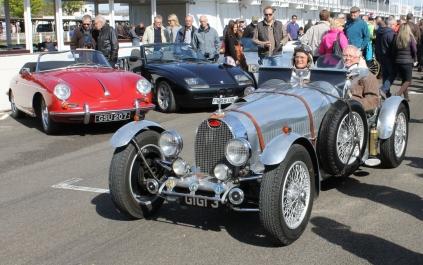 Bugatti Goodwood Breakfast Club Soft Top Sunday May 2016