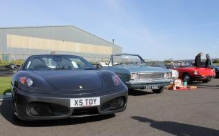 Ferrari F430 Goodwood Breakfast Club Soft Top Sunday May 2016