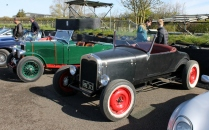 Ford Hot Rod Goodwood Breakfast Club Soft Top Sunday May 2016