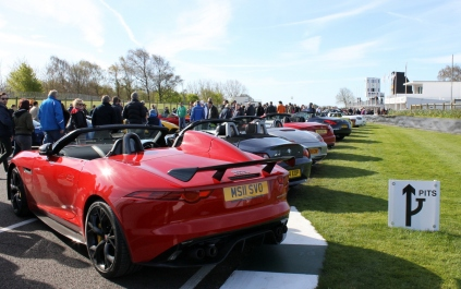 Goodwood Breakfast Club Soft Top Sunday May 2016