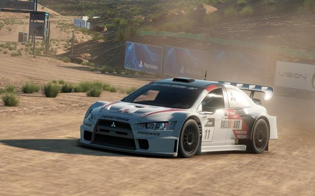 Gran Turismo Sport Mitsubishi rally