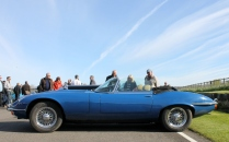 Jaguar E-Type Goodwood Breakfast Club Soft Top Sunday May 2016