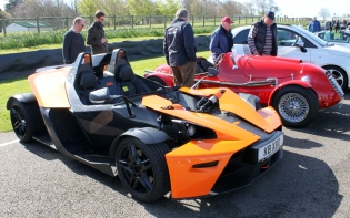 KTM X-Bow Goodwood Breakfast Club Soft Top Sunday May 2016