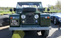 Land Rover Series 1 Goodwood Breakfast Club Soft Top Sunday May 2016