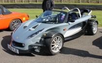 Lotus 340R Goodwood Breakfast Club Soft Top Sunday May 2016