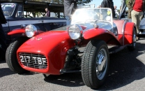Lotus 7 Goodwood Breakfast Club Soft Top Sunday May 2016