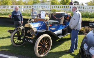 Model T Ford Goodwood Breakfast Club Soft Top Sunday May 2016