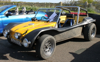 VW Beach Buggy Goodwood Breakfast Club Soft Top Sunday May 2016