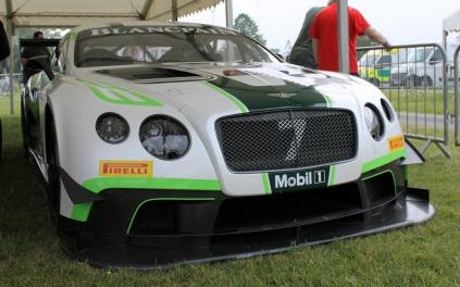 Bentley Continental GT3 racing car Cholmondeley Power and Speed 2016