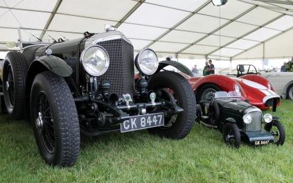Bentley miniature Cholmondeley Power and Speed 2016