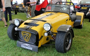Caterham 7 front Cholmondeley Power and Speed 2016
