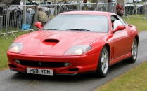 Ferrari 550 Maranello Cholmondeley Power and Speed 2016