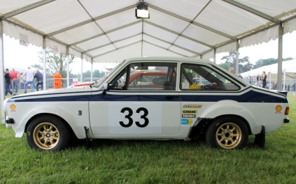 Ford Escort MK2 rally car Cholmondeley Power and Speed 2016