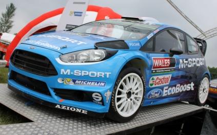 Ford Fiesta M-Sport WRC Cholmondeley Power and Speed 2016