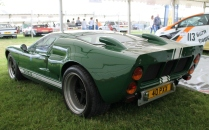 Ford GT40 rear Cholmondeley Power and Speed 2016