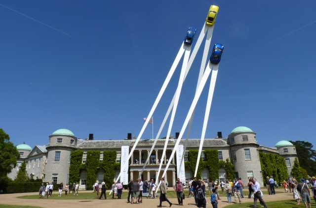 Goodwood Festival of Speed 2016 preview central sculpture