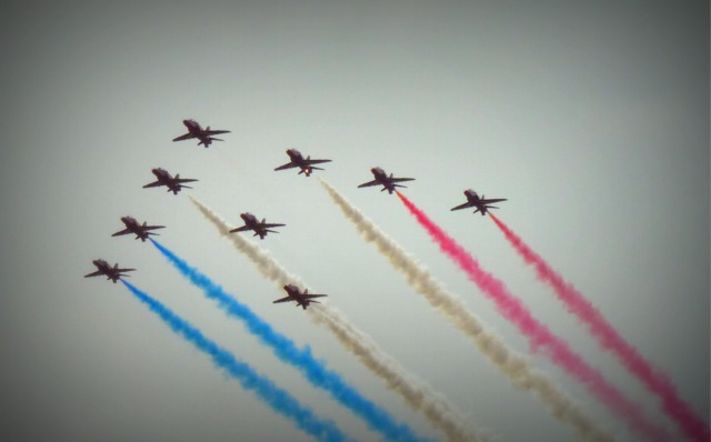 Goodwood Festival of Speed 2016 preview Red Arrows