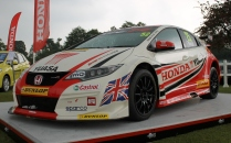 Honda Civic BTCC Matt Neal Cholmondeley Power and Speed 2016