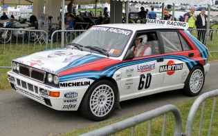 Lancia Delta Intagrale rally WRC Cholmondeley Power and Speed 2016